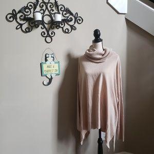 Susina Plus Size Cowl Neck Sweater